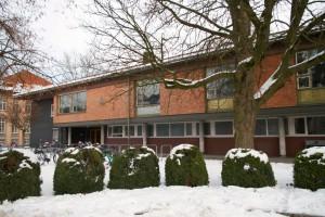 Das Clubhaus im Winter