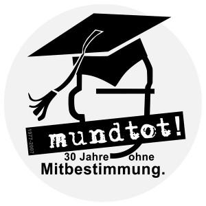 Mundtot - ohne verfasste Studierendenschaft