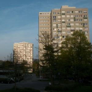 Wohnheime im Studentendorf WHO