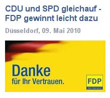 Die FDP dankt nach der Wahl